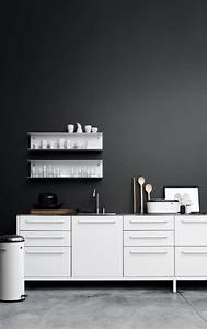 Schwarz Weiße Küche : ideen f r eine schwarze k che planungswelten ~ Markanthonyermac.com Haus und Dekorationen