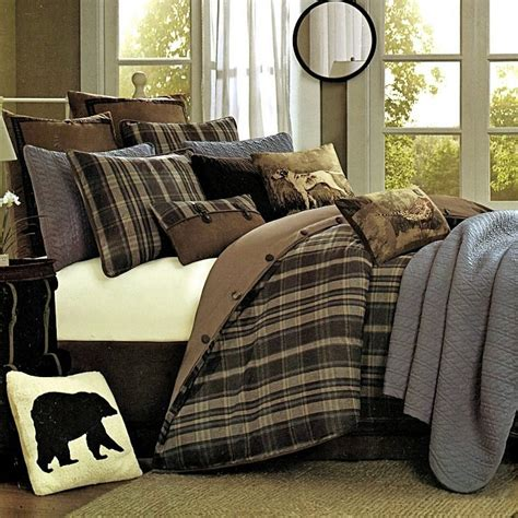hadley plaid comforter set twin
