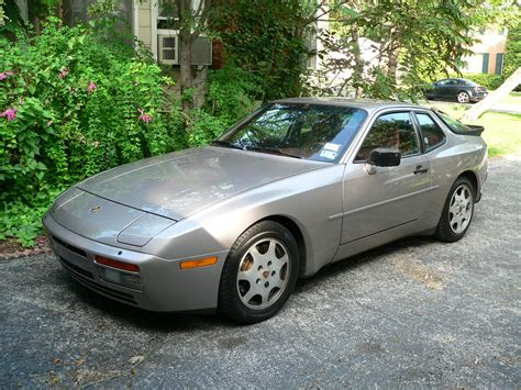1988 Porsche 944 Turbo Silver Rose For Sale German Cars