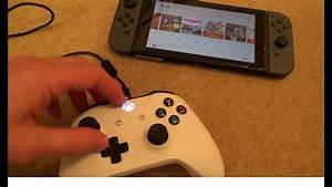 How To Use Xbox One 360 Controllers On The Nintendo