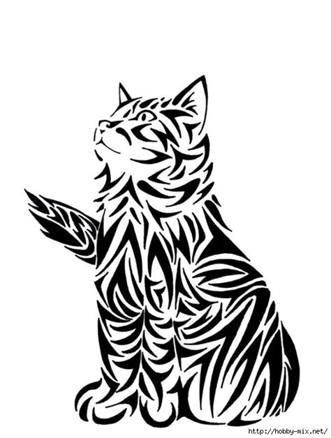 Ажурные трафареты котов | Котеко | Cat tattoo, Cat art, Art