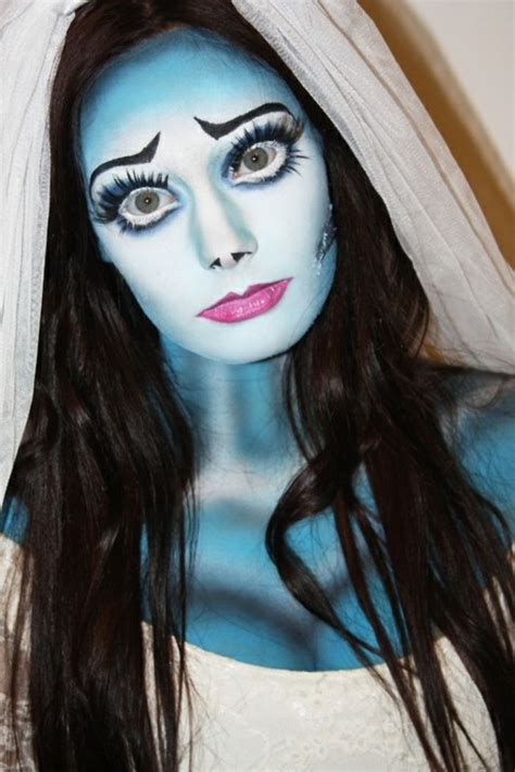 halloween schminkideen fuer damen  erschrecken sie