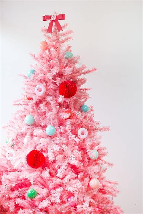 top 40 pink christmas trees christmas celebration