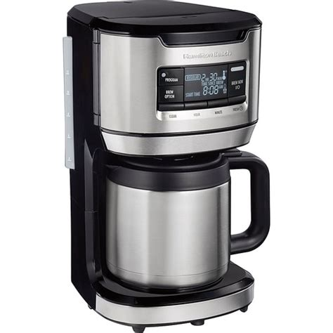 I used a 12 cup mr coffee with auto shutoff, and i wanted a good, simple, reliable 12 cup coffee maker with auto shut off, that's all. Hamilton Beach - FrontFill 12-Cup Coffee Maker with Water Fi