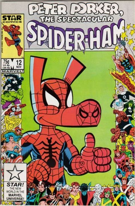 peter porker  spectacular spider ham  comic books