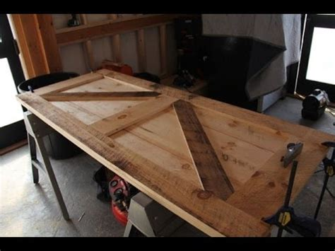 build  board  batten door youtube