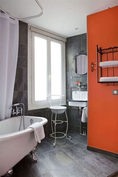 orange and gray bathroom ideas 37 grey slate bathroom wall tiles ideas and pictures