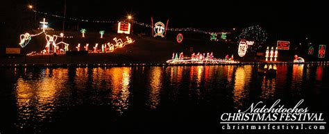 natchitoches christmas festival of lights 2016 in
