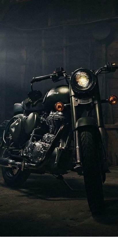 Enfield Royal Bike Wallpapers Iphone Night Bullet