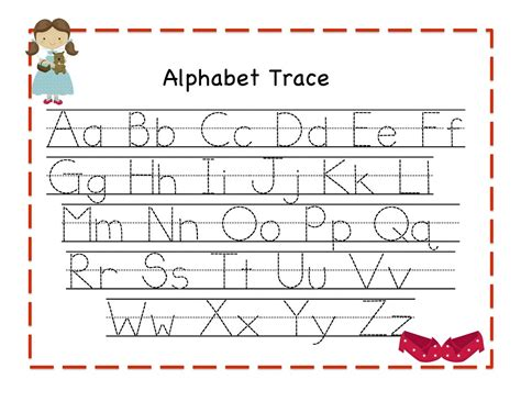 letter writing worksheets traceable alphabet worksheets kiddo shelter