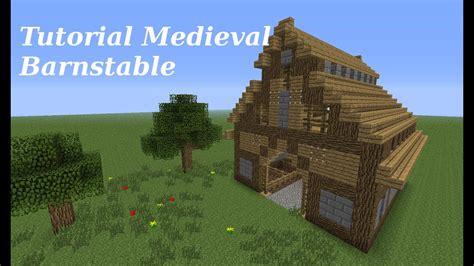 minecraft tutorial medieval barnstable youtube