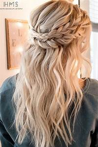 15 Chic Half Up Half Down Wedding Hairstyles for Long Hair EmmaLovesWeddings