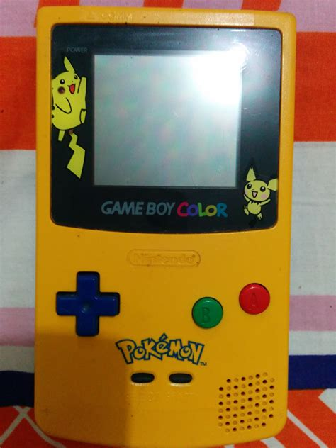 for gameboy color gameboy color pikachu edition club retro gamer