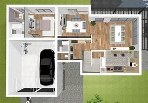 plan maison 3d logiciel gratuit pour dessiner ses plans 3d With conception de maison 3d 11 jardin moderne mon jardin en ligne