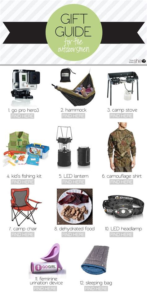 2014 gift guides for the outdoorsman howdoesshe com