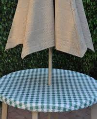 fitted outdoor tableclothswith umbrella hole fitted cafe