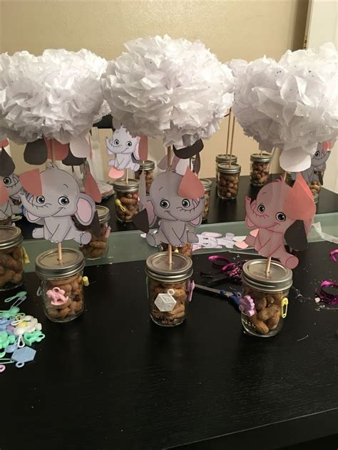 elephant themed baby shower ideas images