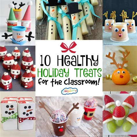 christmas snacks for preschool 10 healthy treats for the classroom momables
