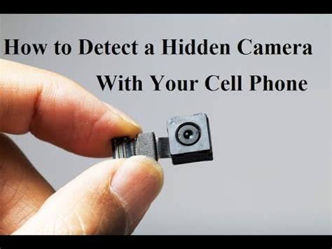 detect  hidden camera   cell phone youtube