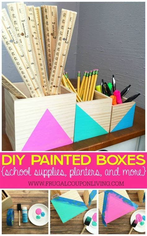 Best Diy Crafts Ideas  Diy Painted Boxes  Great For