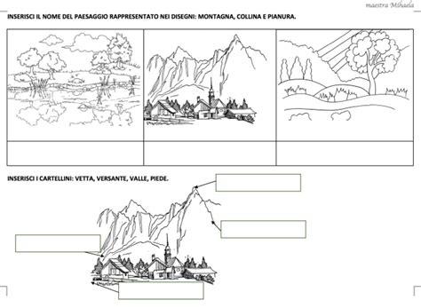 paesaggi naturali  antropici classe seconda work