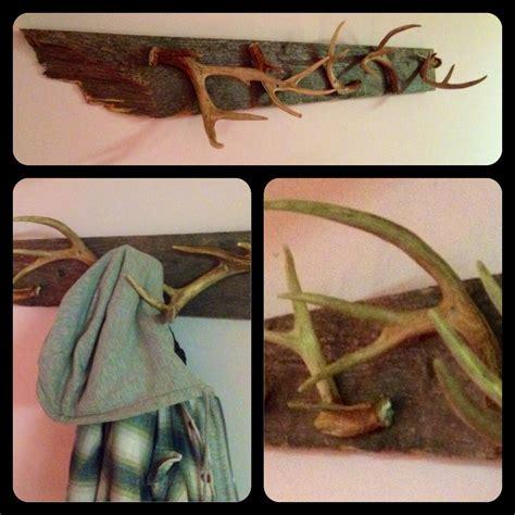diy antler coat rack diy antlers antlers decor diy hat