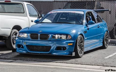 A Time Attack Laguna Seca Blue E46 M3 In Detail