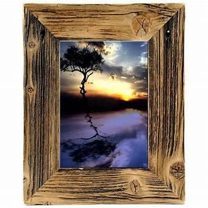 Bilderrahmen Antik Holz : mein landhaus bilderrahmen fotorahmen unikat natur dunkel holz antik 21x30 ebay ~ Buech-reservation.com Haus und Dekorationen