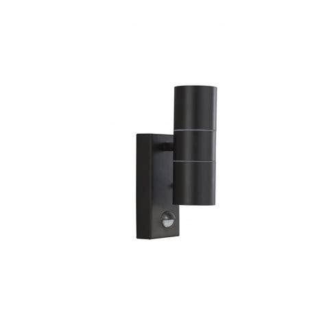 searchlight 7008 2bk 2 light modern outdoor wall light