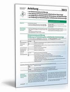 Einkommensteuererklärung 2015 Berechnen : anleitung einkommensteuererkl rung 2015 brosch re zum download ~ Themetempest.com Abrechnung