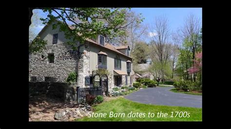 homes for sale in chester county pa historic chester county barn conversion for sale 1705