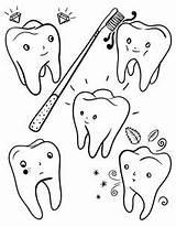 Coloring Tooth Printable Teeth Dental Healthy Printables Coloringcafe Mouth Pdf Colour A4 Dentistry Month Preschool Muse Kindergarten sketch template