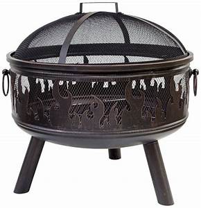 Feuerkorb Mit Grill : feuerkorb wildfire inkl funkenschutzhaube bronzefarben online kaufen otto ~ Markanthonyermac.com Haus und Dekorationen