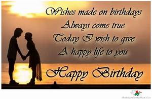 Most Romantic Birthday Quotes For Girlfriend: Cute happy ...