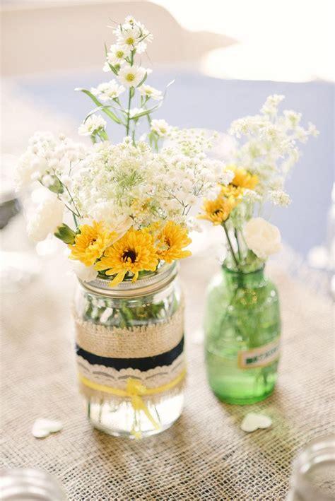 flowers in jars wild flowers in mason jars flower arrangements pinterest