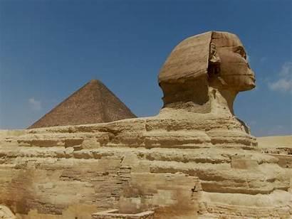 Sphinx Giza Wallpapers Desktop Pyramids Tut King
