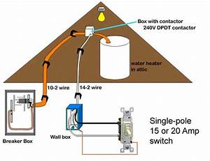 Wiring Of Water Heater Switch  15
