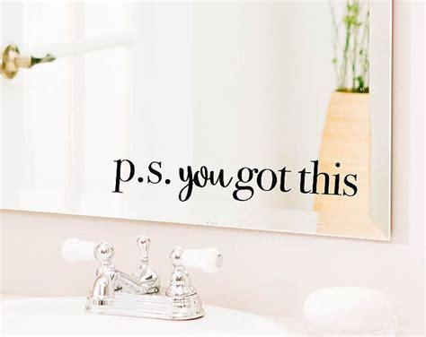 Best 25+ Bathroom Wall Decals Ideas On Pinterest