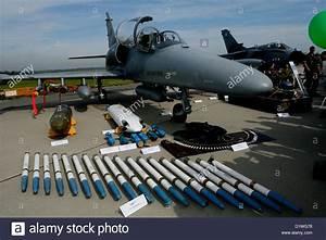 Czech fighters AERO L-159 ALCA with arsenal Stock Photo ...