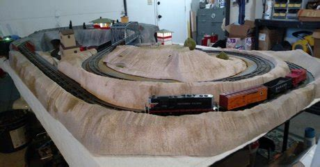 model train layouts track plans  projects