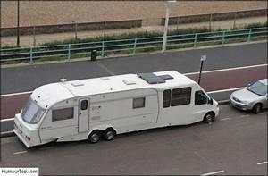 Image humour camping car caravane transports pinterest for Delightful plan de travail maison 16 une moto les transports
