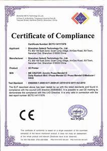 Diy Certificate Delta Rostock Mini G2 Pro Diy Kit With Auto Leveling 800