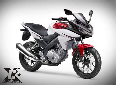 New Vixion Thailook by Konsep Modifikasi Yamaha New Vixion Half Fairing Fazer150