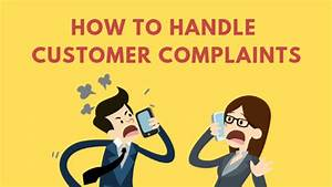 How To Handle Customer Complaints
