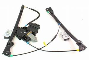 Lh Driver Front Power Window Regulator  U0026 Motor 93