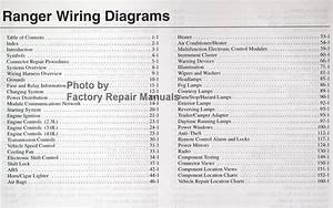 2003 Ford Ranger Pickup Truck Electrical Wiring Diagrams Original Factory Manual