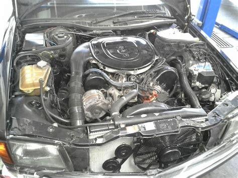 mercedes benz sec  engine swap