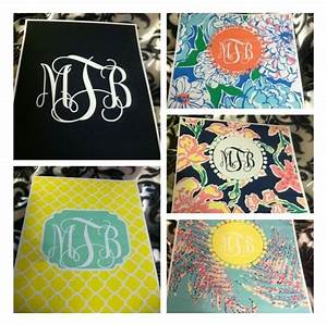 DIY monogramed binder covers. | DIY | Pinterest