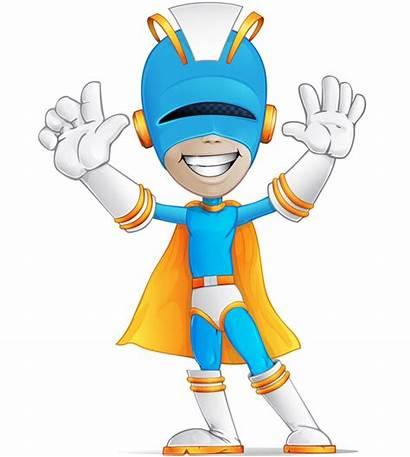 Superhero Character Vector Hero Cartoon Super Characters