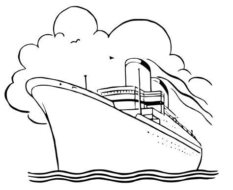Cruise Ship Paquebot 28 Transportation Printable